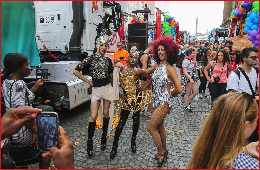 Гей-парад в Париже  (гей блюсик 15175)