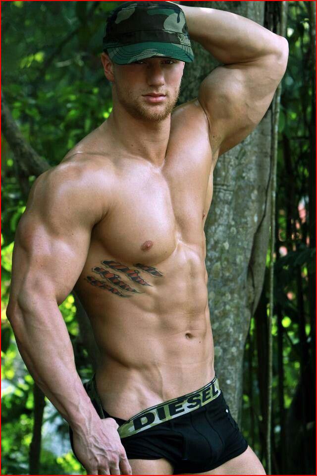 Мужественный парень  (гей блюсик 15302)
