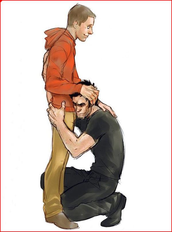 Любовь нарисованная  (гей блюсик 15311)