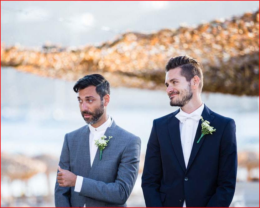 Свадьба на острове Миконос  (гей блюсик 15327)