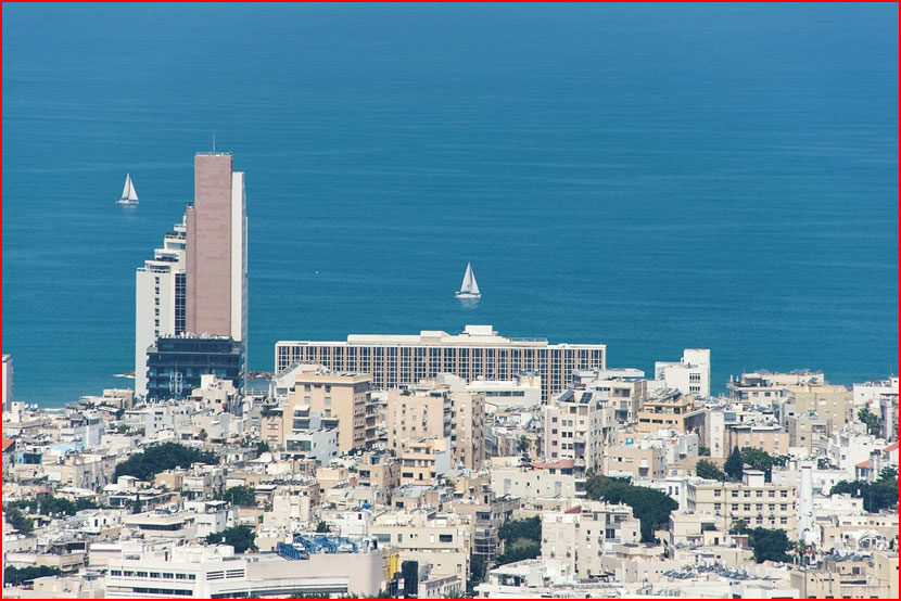 Башни Азриэли в Тель-Авиве  (гей блюсик 15351)