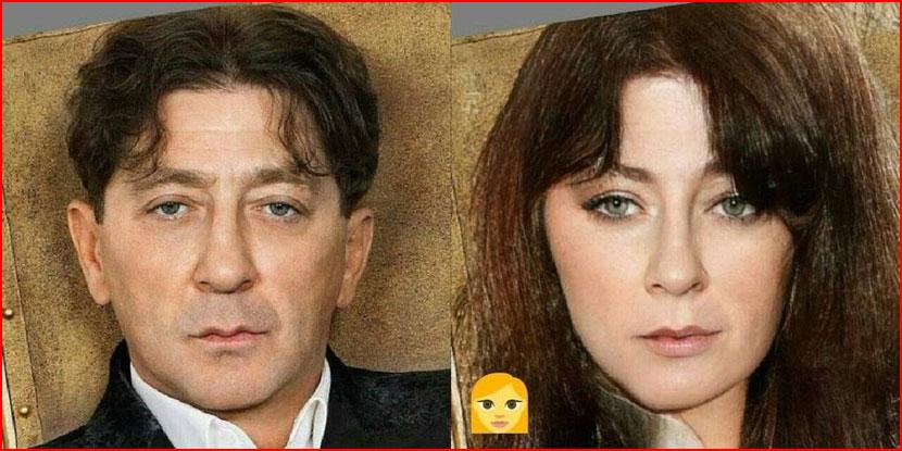 Как бы выглядели знаменитые мужчины, будь они женщинами