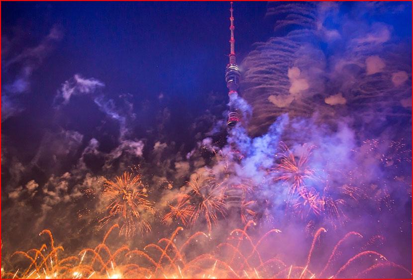 Фестиваль Круг Света в Останкино (видео)  (гей блюсик 15536)