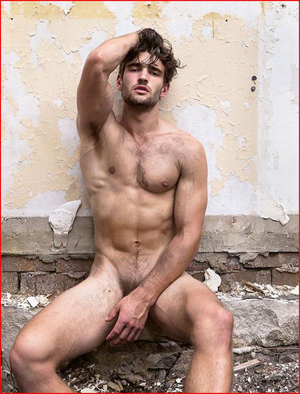 Обнажённые парни Пола Фримена  (гей блюсик 15559)