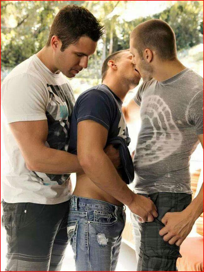 Любовь втроём  (гей блюсик 15569)