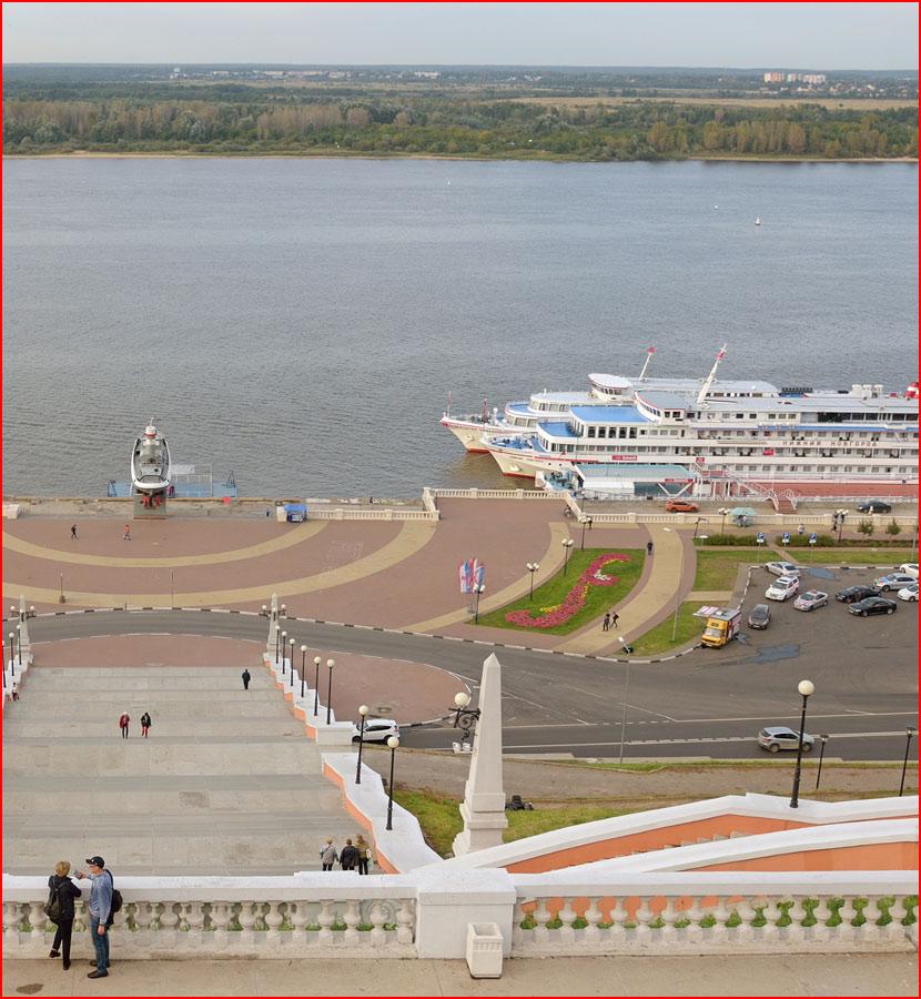 Там где Ока обнимается с Волгой рекой. Фотозарисовка  (гей блюсик 15571)