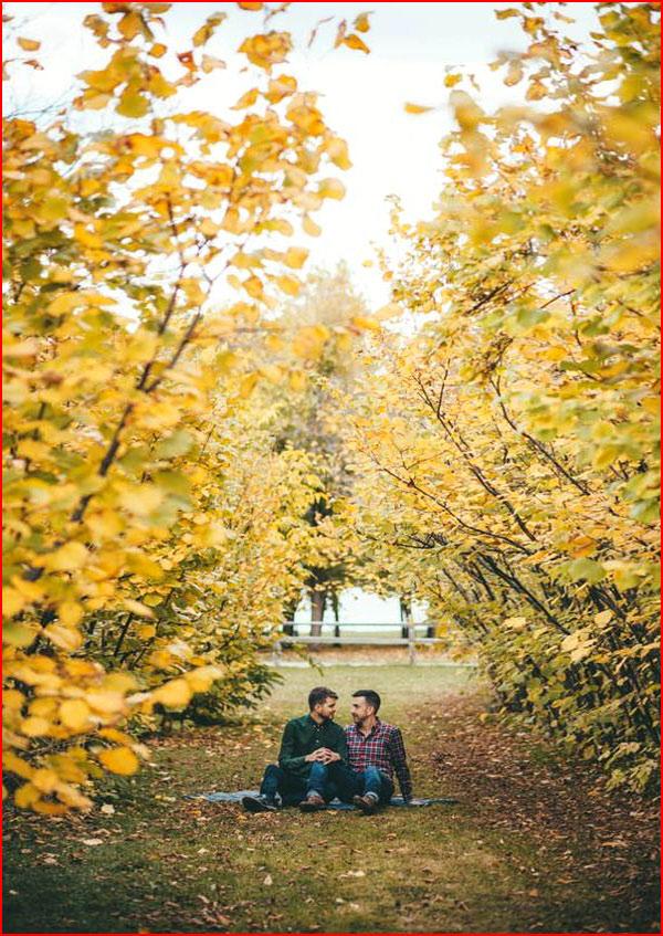 Осенняя прогулка  (гей блюсик 15580)