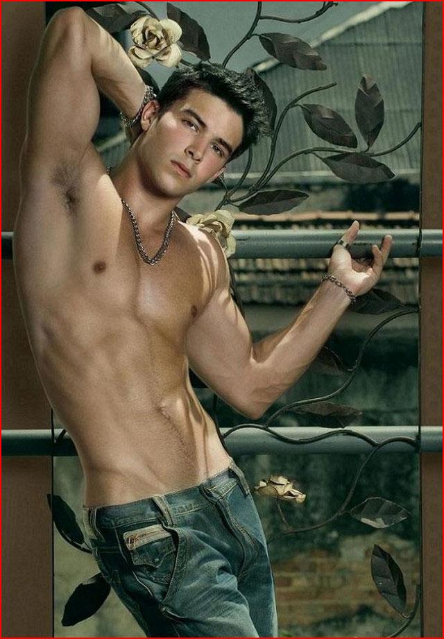 Парни в джинсах  (гей блюсик 15599)