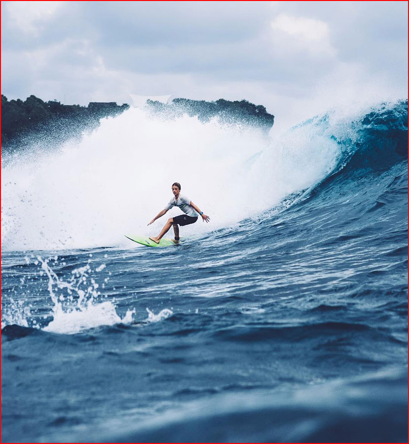 Летние фото: солнце, волны и серфинг