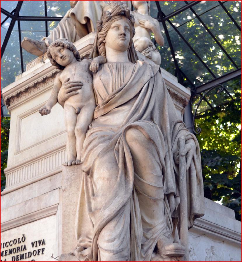 Городская скульптура Флоренции  (гей блюсик 15711)