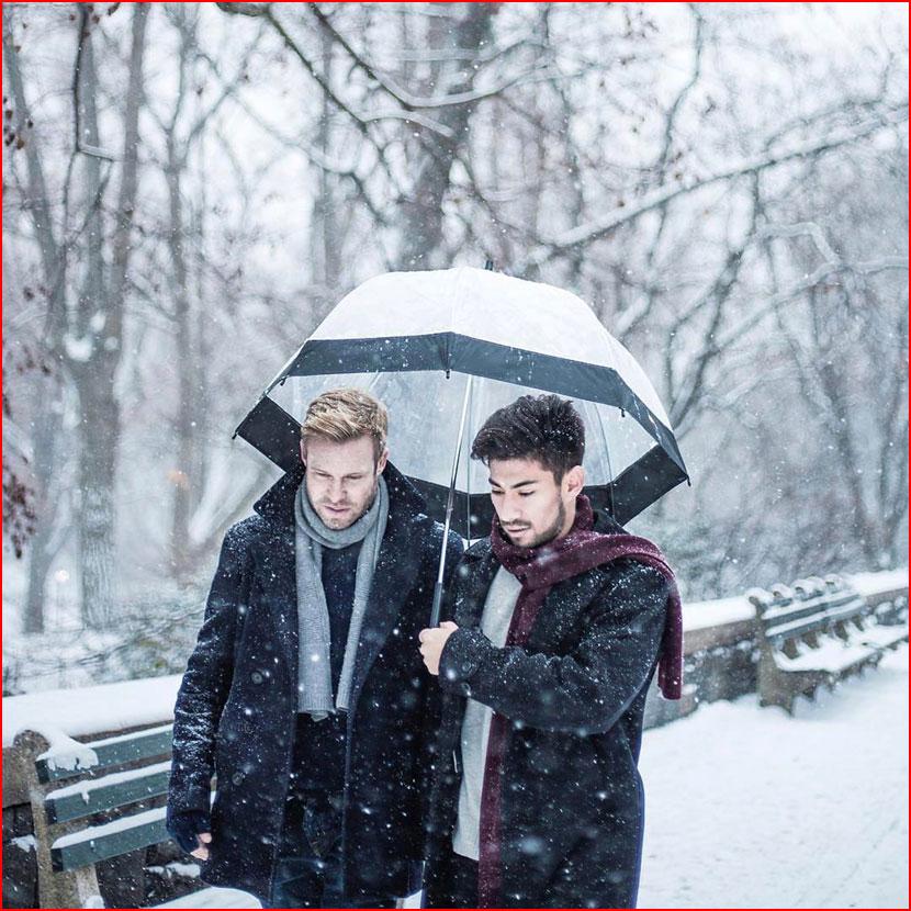 Прогулка под зонтом  (гей блюсик 15809)
