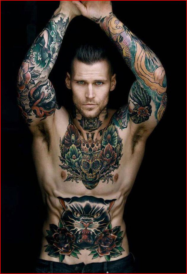 Татуированные  (гей блюсик 15815)