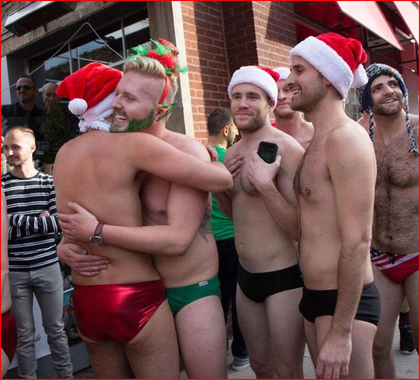 Нашествие Санта-Клаусов в Чикаго