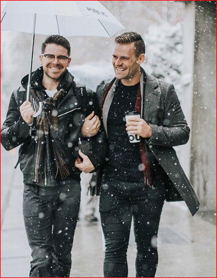 А снег идёт  (гей блюсик 15944)