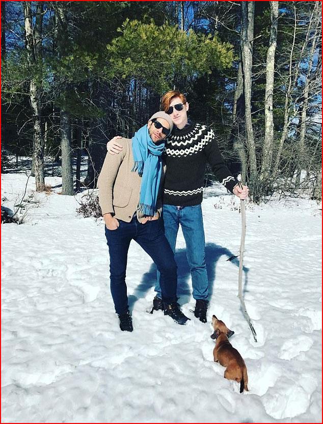 Прогулка по зимнему лесу  (гей блюсик 15953)