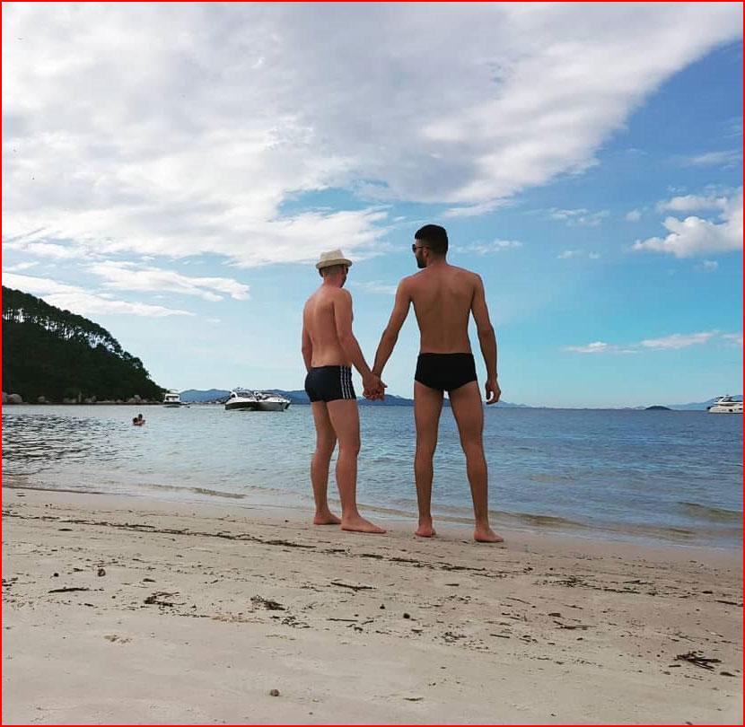 Рай для влюблённых  (гей блюсик 16008)