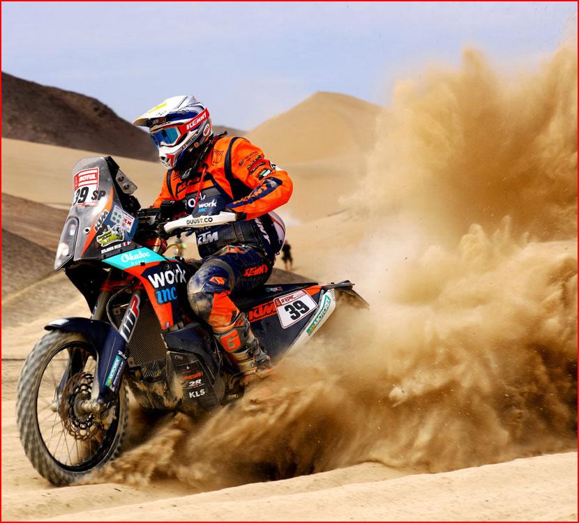 Ралли Дакар 2018: гонка в пустыне  (гей блюсик 16011)