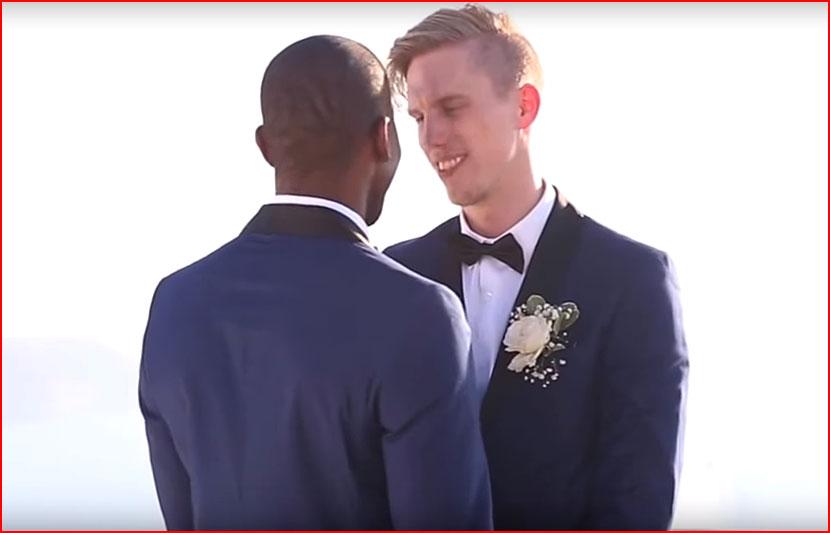 Свадьба в Санторини (видео)  (гей блюсик 16028)