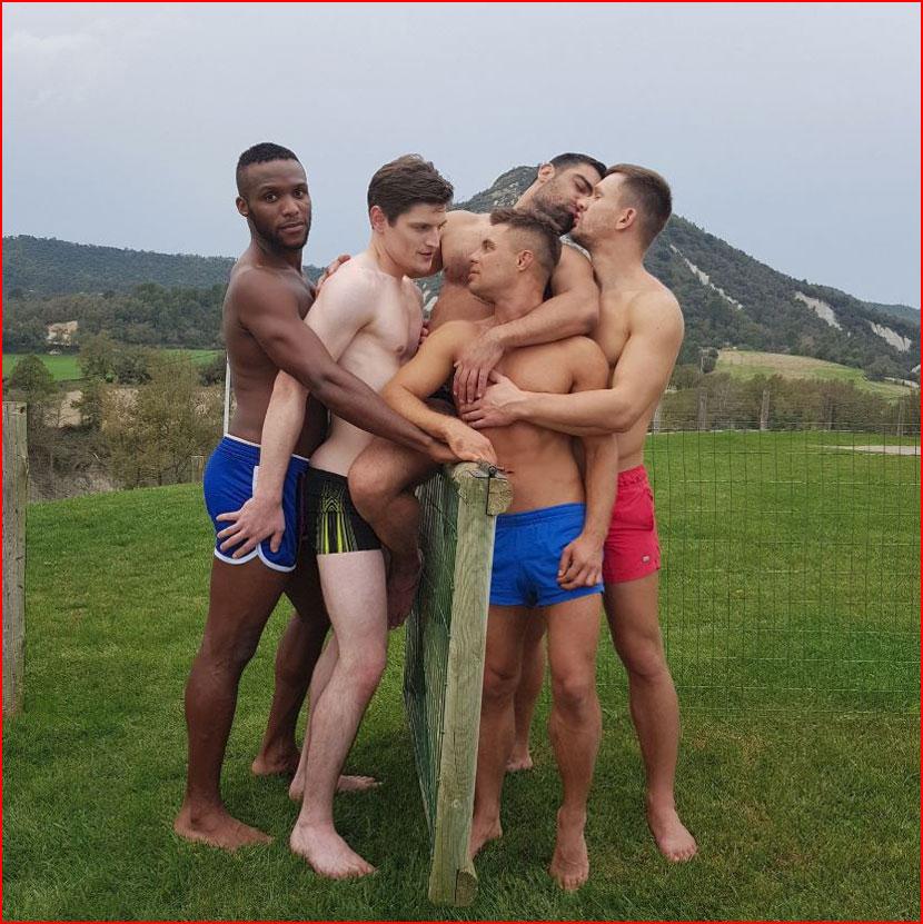 Групповуха  (гей блюсик 16037)