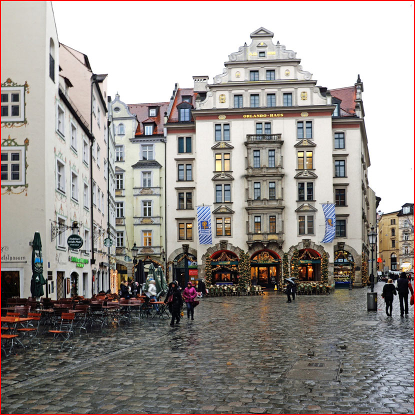 Мюнхен под дождем. Фотозарисовка  (гей блюсик 16043)