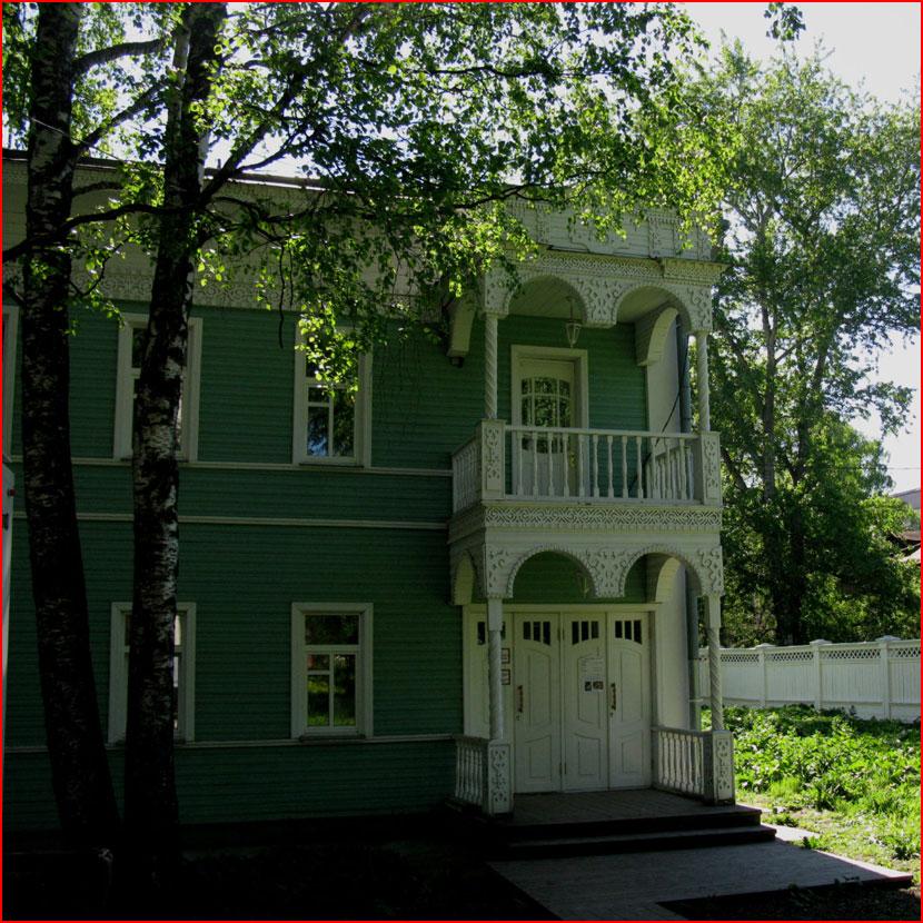 Вологда резная деревянная  (гей блюсик 16047)