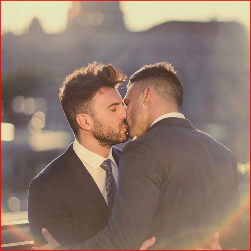 Сладкий поцелуй  (гей блюсик 16052)