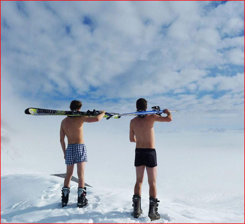 Зима... парни...  (гей блюсик 16059)
