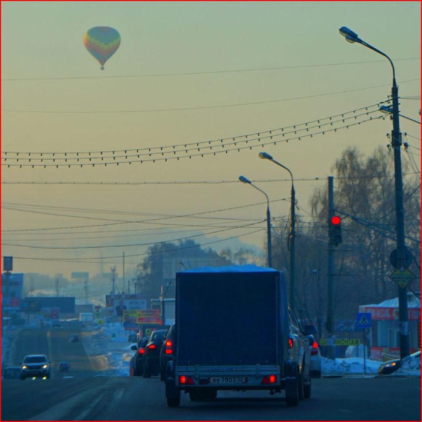 Фиеста и гонка аэростатов в Нижнем Новгороде (видео) +  (гей блюсик 16151)