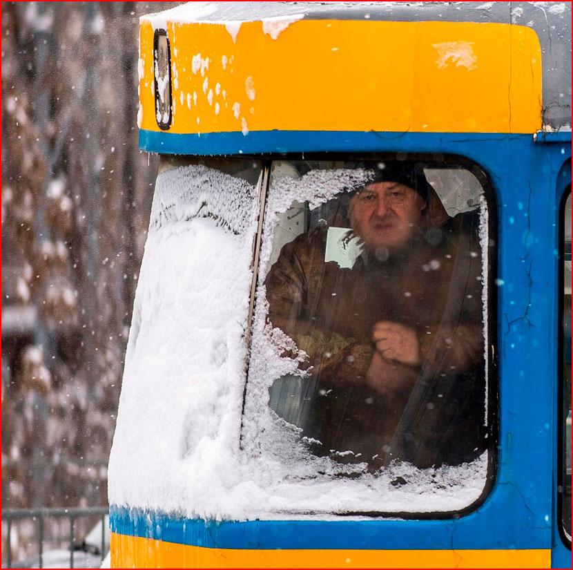 В Европе холода и снегопады  (гей блюсик 16175)
