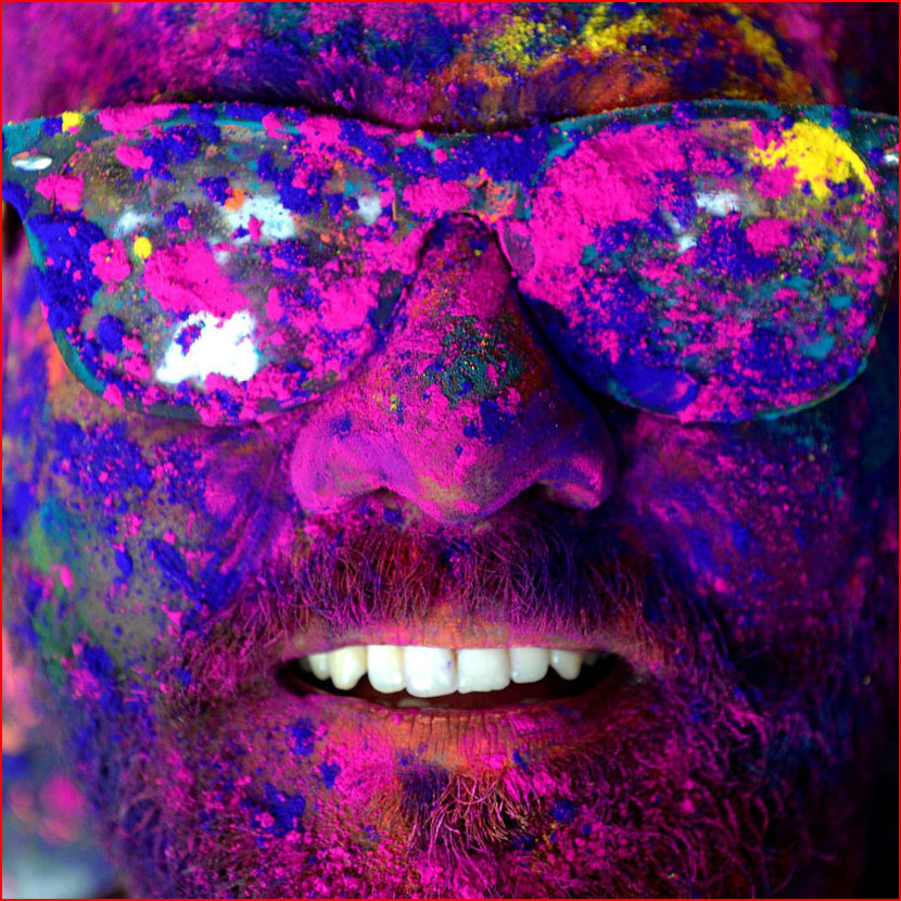 Фестиваль красок Холи 2018  (гей блюсик 16179)