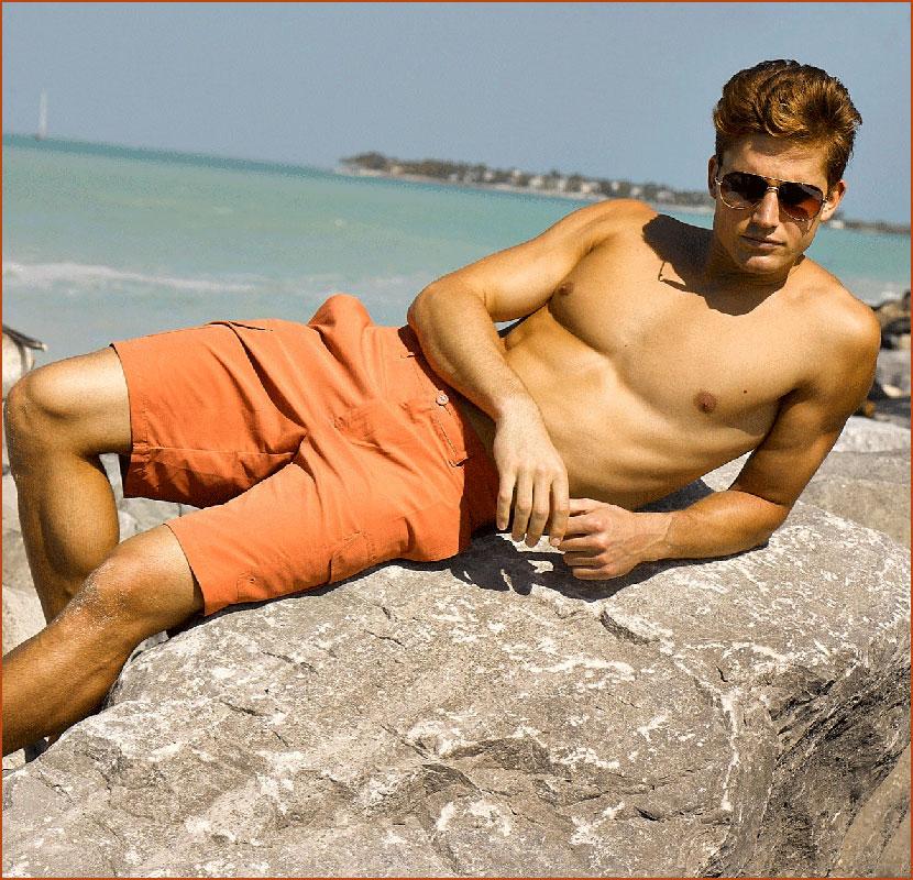 Парни с пляжа  (гей блюсик 16191)