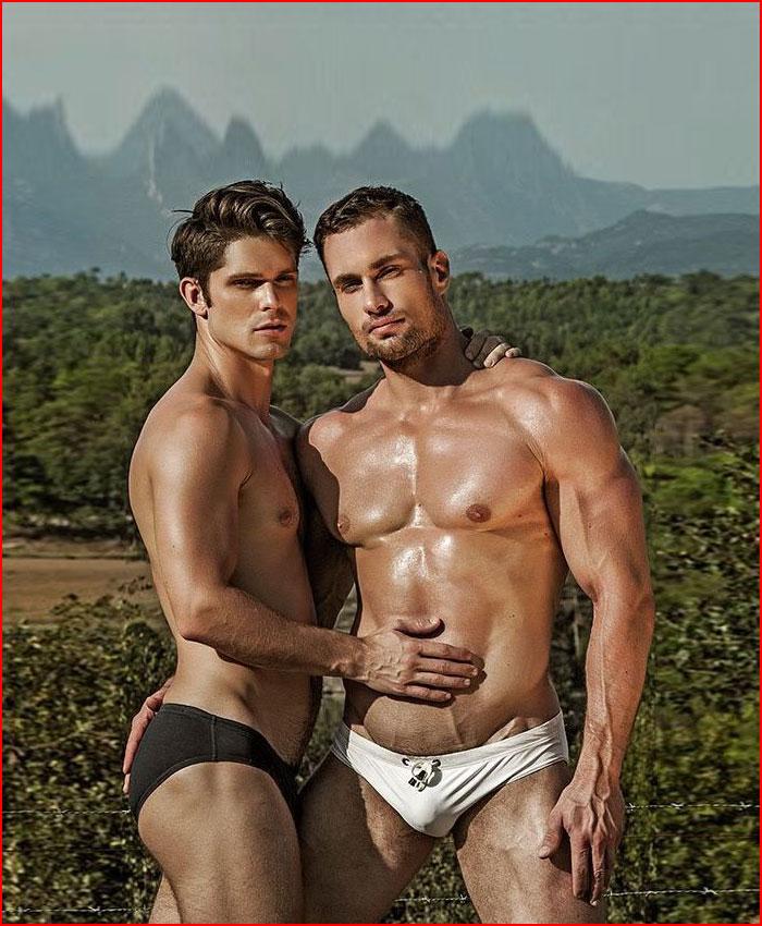 Два красавца  (гей блюсик 16460)