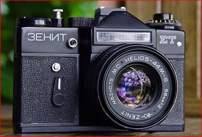 Фотография - самое массовое хобби в СССР