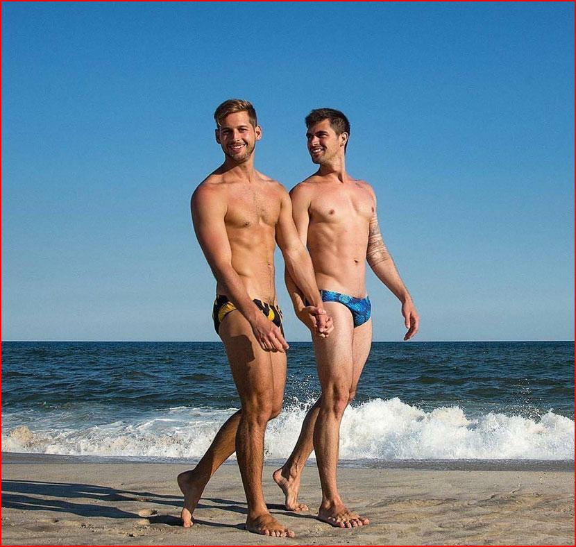 Влюблённые у моря  (гей блюсик 16549)
