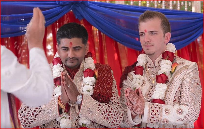 Гей-свадьба по-индийски (видео)  (гей блюсик 16552)