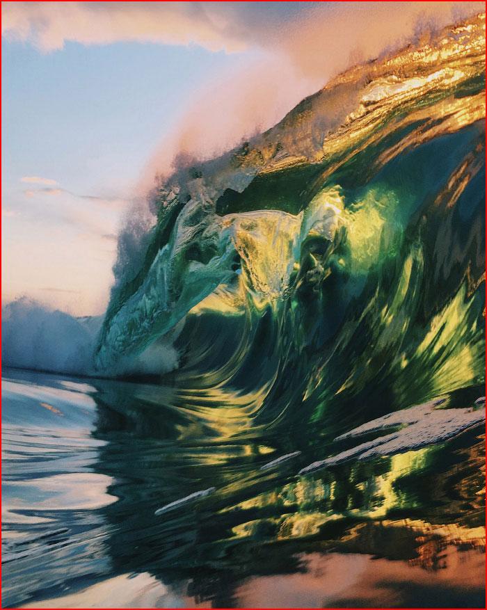 Морские волны  (гей блюсик 16583)