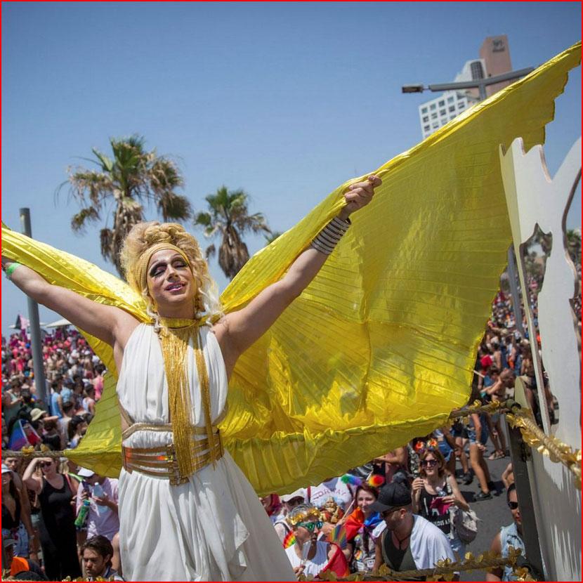 Парад гордости в Тель-Авиве - 2018 (3 видео) +