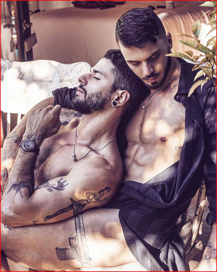 Влюблённые  (гей блюсик 16804)