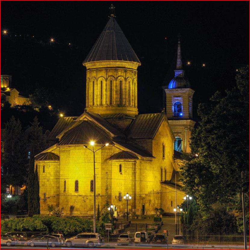 Вечерний Тбилиси. Фотозарисовка