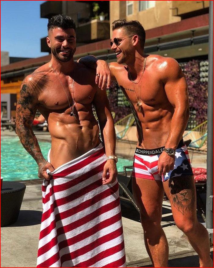 Знойные парни  (гей блюсик 17164)