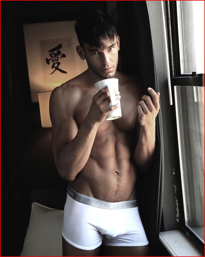 Кофеёк с утра пораньше  (гей блюсик 17278)