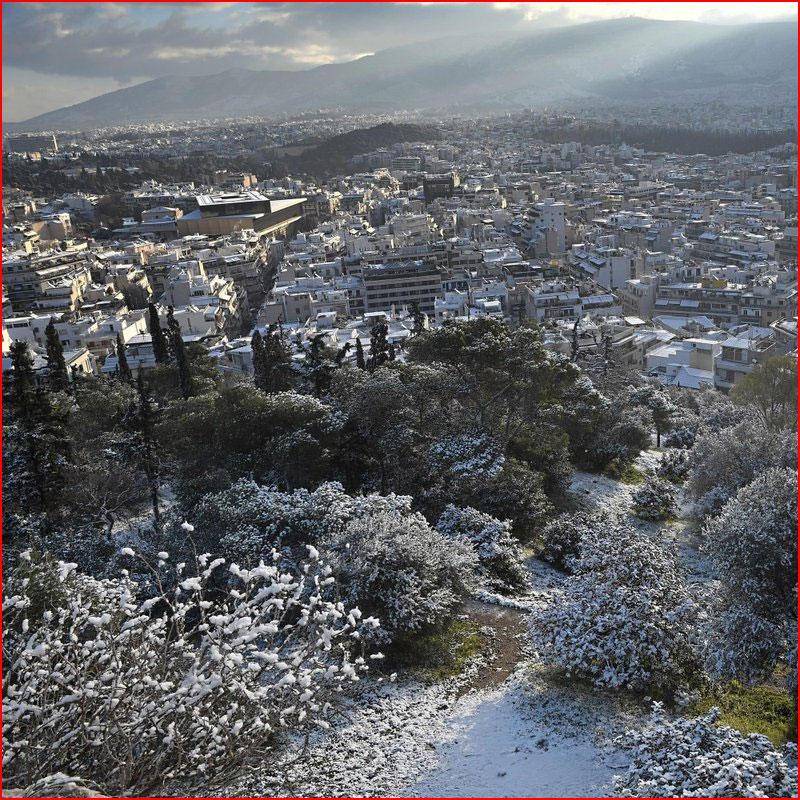 Зима в Греции. Фотозарисовка  (гей блюсик 17519)