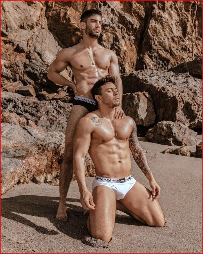 Хосе  Сото и  Хосе  Эрнандес - Два неизвестных мальчика  (гей блюсик 17711)