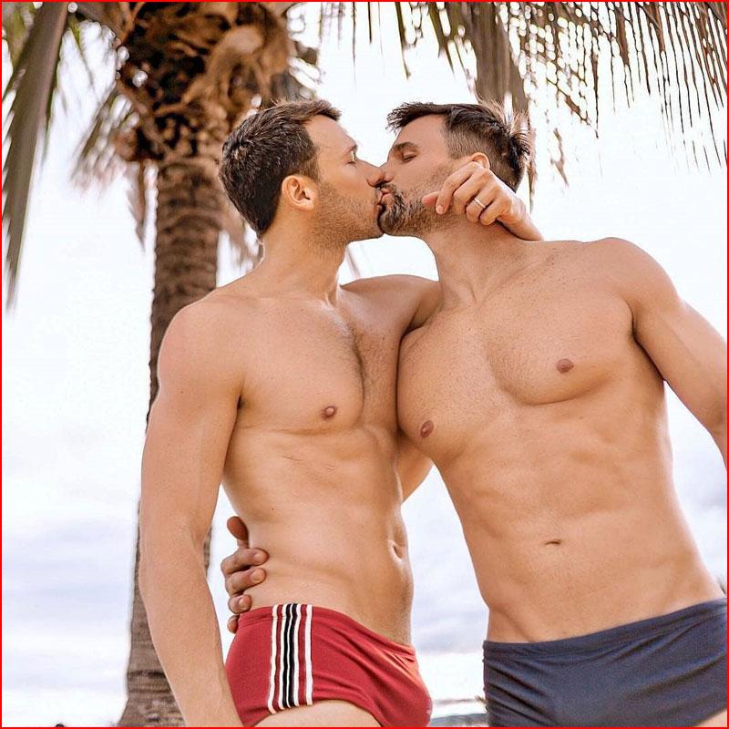 Под пальмами  (гей блюсик 17789)