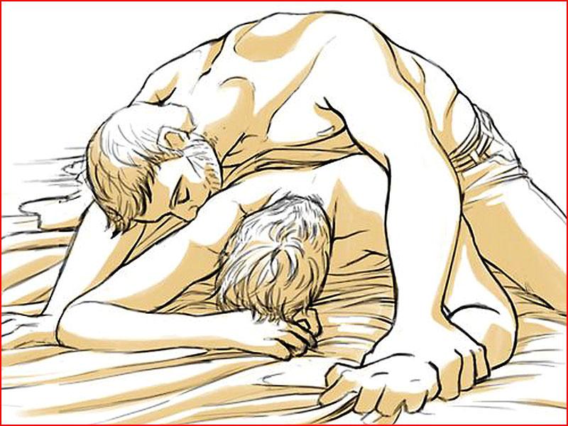 Любовь нарисованная  (гей блюсик 18031)
