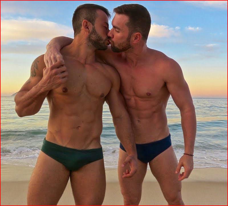 Вечерний поцелуй  (гей блюсик 18078)