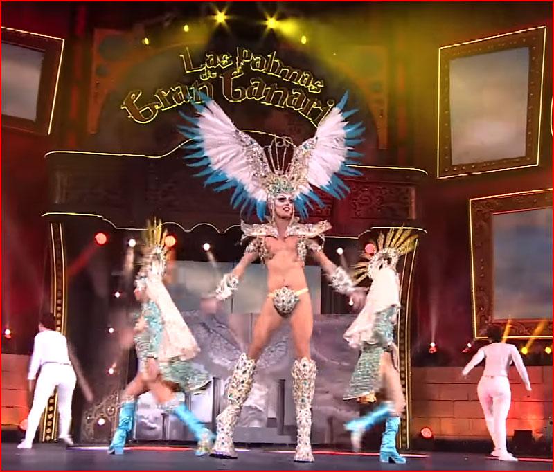 Drag Sethlas на карнавале (видео)  (гей блюсик 18201)