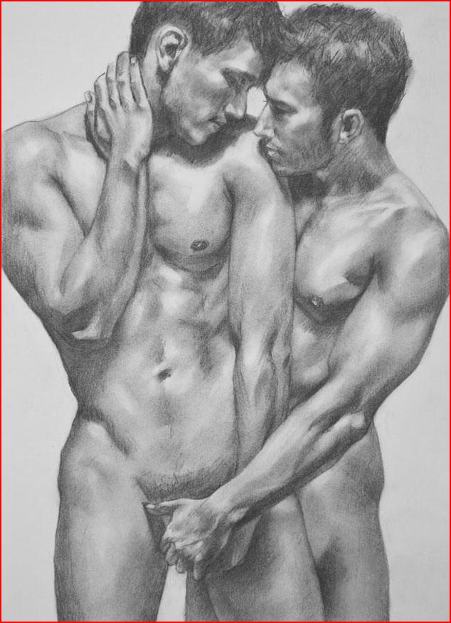 Страсти нарисованные  (гей блюсик 18237)