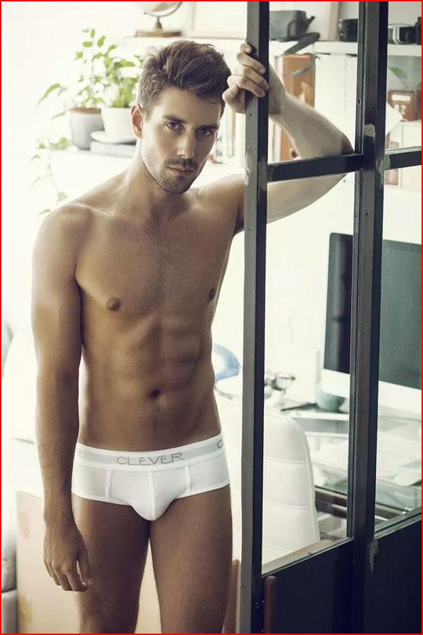 Красивые модели в рекламе нижнего белья  (гей блюсик 18323)