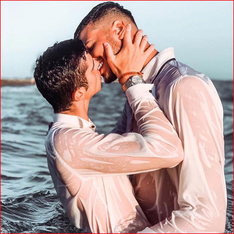 Свадебное купание  (гей блюсик 18348)